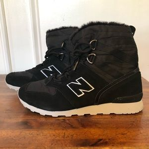 New balance sneaker boots size 8.5